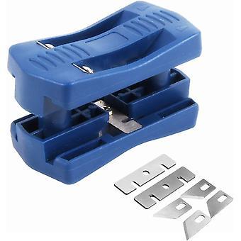 גוזם פסים קצה, מיני פלסטיק Pvc דיקט מלמין עץ קצה רצועה חותך, כלי חיתוך ידני נגרות