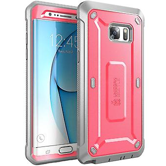 SUPCASE-Samsung Galaxy Note 7 Case-Unicorn Beetle Pro Series Case-Pink/Gray