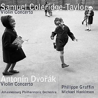S. Coleridge-Taylor - Samuel Coleridge-Taylor: Violin Concerto; Anton N Dvor K: Violin Concertos [CD] USA import