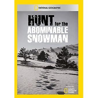 Hunt for the Abominable Snow [DVD] USA import