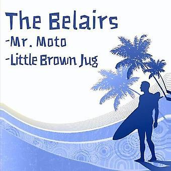 Belairs - Mr. Moto/Little Brown Jug [CD] USA import