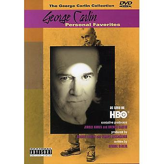 George Carlin - George Carlin: Personal Favorites [DVD] USA import