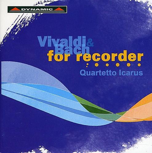 Vivaldi/Bach - Vivaldi & Bach for Recorder [CD] USA import