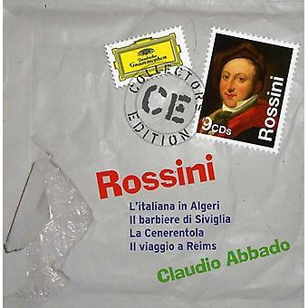 G. Rossini - Rossini: Barberaren i Sevilla; Askungen; Italienskan i Alger; Il Viaggio Reims [CD] USA import
