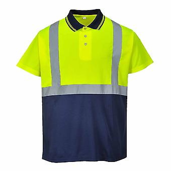 PORTWEST - Hi-Vis sicurezza Workwear Polo bicolore
