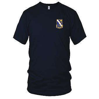US Army - 143ème Infantry Regiment brodé Patch - Mens T Shirt