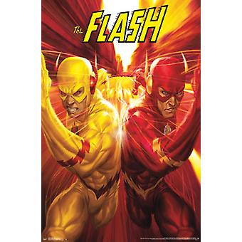 The Flash - Race Poster Print