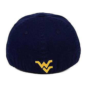 "West Virginia Mountaineers NCAA reboque ""Relaxante"" Stretch equipado chapéu"