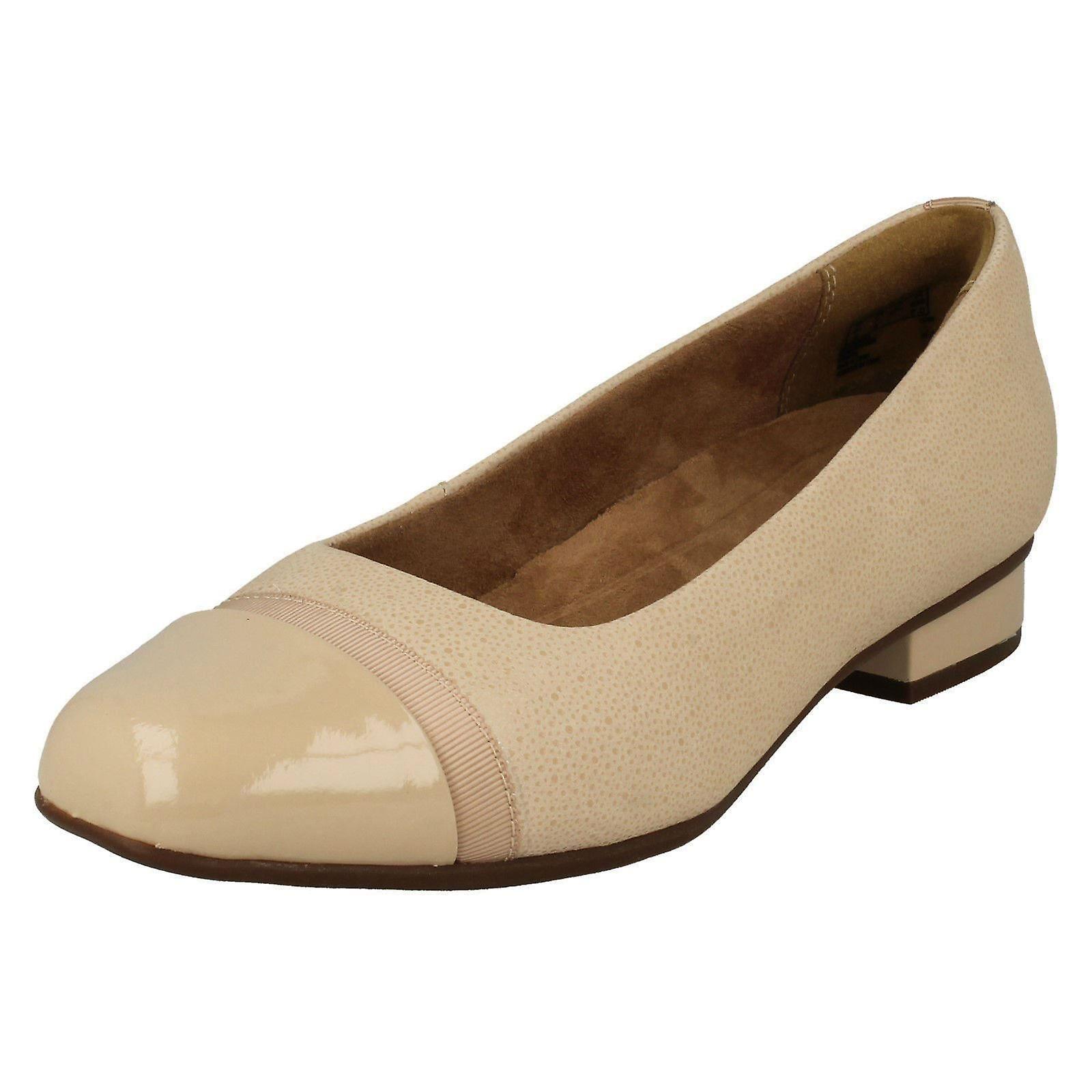 Clarks Keesha Rosa Nude Interest 26132358 - Everyday Shoes