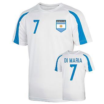 Аргентина Спортивная подготовка Джерси (ди Мария 7) - дети