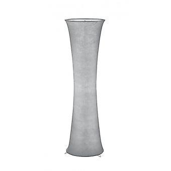 Lâmpada de assoalho do trio iluminação Gravis moderno Metal branco