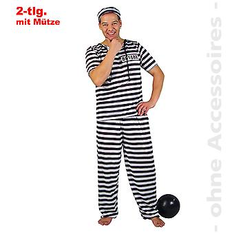 Men's Kanchanaphet convict costume Beagle Mr costume