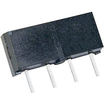 StandexMeder Electronics MS05-1A87-75DHR Reed relay 1 maker 5 V DC 0.5 A 10 W SIP 4