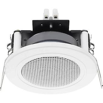 Luidspreker 12 W 4 Ω White 1 PC('s) mount Monacor SPE-82/WS Flush