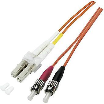 EFB Elektronik Fibreglass FO Cable [1x LC plug - 1x ST plug] 50/125 µ Multimode OM3 2.00 m