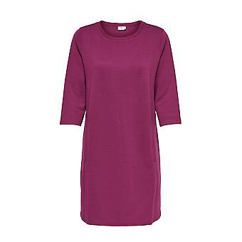 JDY hyvät neulottu mekko pitkähihainen paita 3/4 pusero Jumper mekko JDYSAGA vain