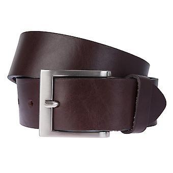 BERND GÖTZ belts men's belts leather belt Leather Brown 2343