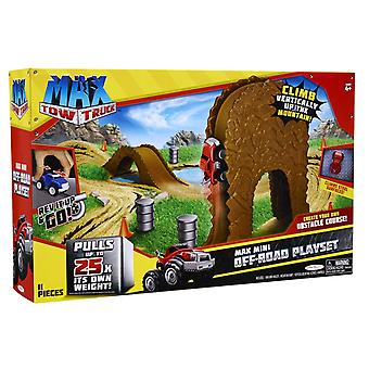 Max Tow Truck Mini Off Road Playset