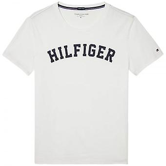 Tommy Hilfiger Organic Cotton Short Sleeved Crew Neck T-Shirt, Brilliant White, X-Large