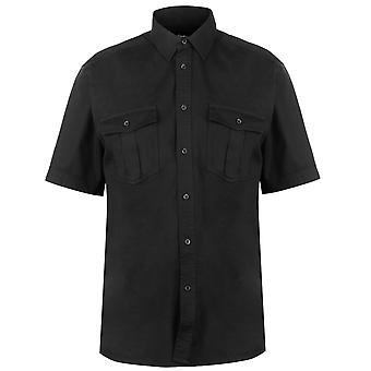 Pierre Cardin heren C Mil SS Shrt korte mouwen Casual Shirt