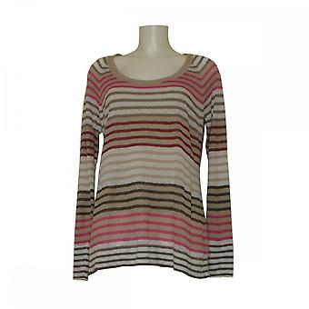 Fenn Wright Manson Women's Long Sleeve Linen Stripe Jumper