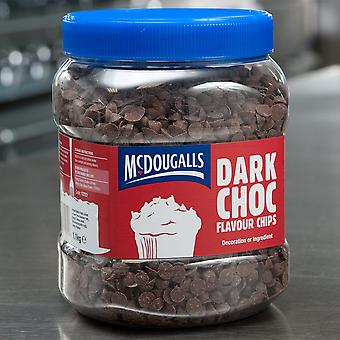 McDougalls Dark Choc Flavoured Chips
