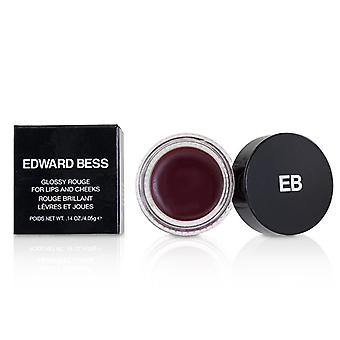 Edward Bess Glossy Rouge voor lippen en wangen - # Spaanse Rose - 4.05g/0.14oz