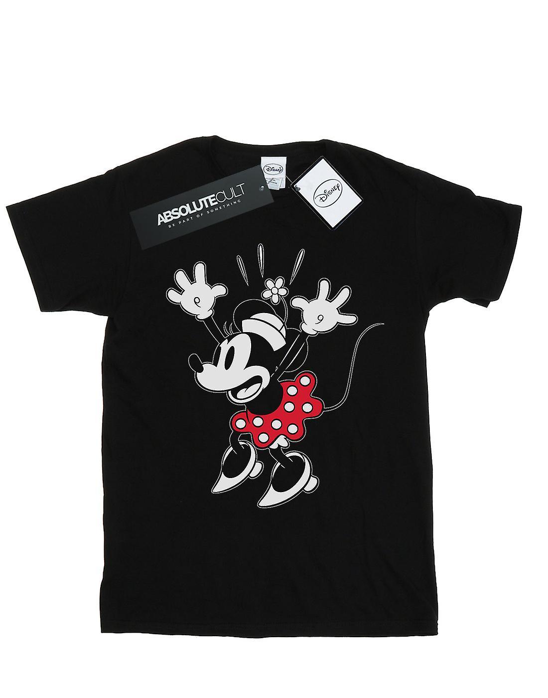 Disney Women's Minnie Mouse Surprise Boyfriend Fit T-Shirt
