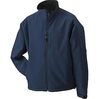 James and Nicholson Mens Waterproof Softshell Jacket