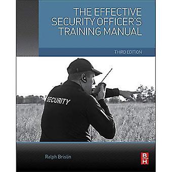 Manuel de formation de l'agent de sécurité en vigueur