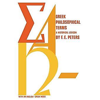 Termini filosofici greci: Un dizionario storico