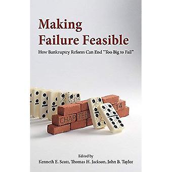 Mancata realizzazione fattibile: Come riforma fallimento può finire troppo grande per fallire