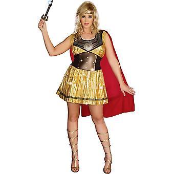Heldere Gladiator volwassen kostuum
