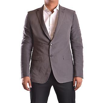Kostüm National Ezbc066020 Männer's grau Baumwolle Blazer