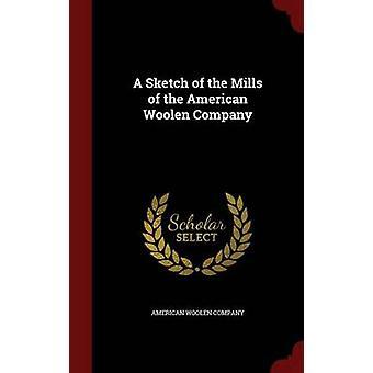 Un croquis des moulins de la American Woolen Company par American Woolen Company