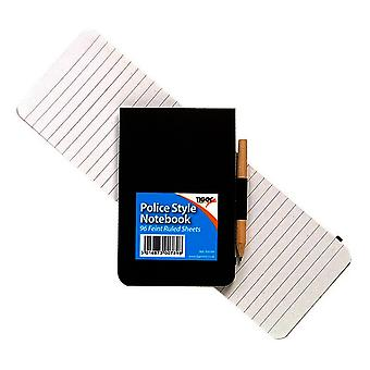 Tigre papeterie Police Style Notebook