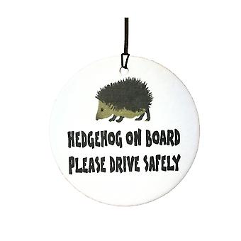 Hedgehog On Board Car Air Freshener