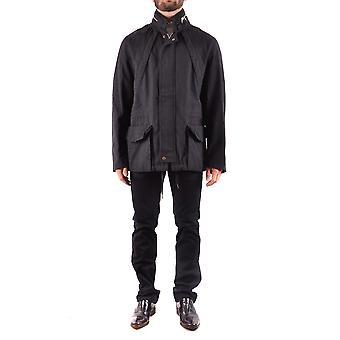 Marc Jacobs Ezbc062053 Men's Black Wool Outerwear Jacket