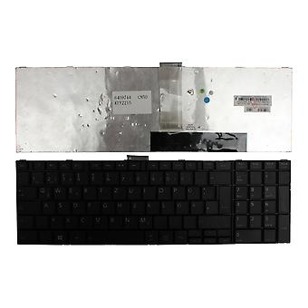 Toshiba Satellite C850-08J zwart Duitse lay-out vervanging Laptop toetsenbord