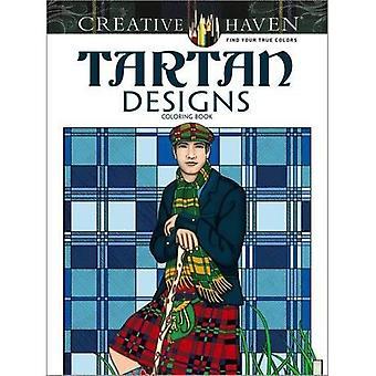Creatieve Haven Tartan ontwerpen Coloring boek (creatieve Haven kleurboeken)