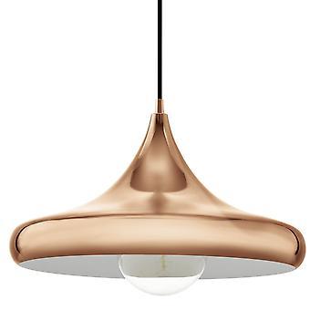 Eglo Coretto 2 colgante cobre pulido grande luz