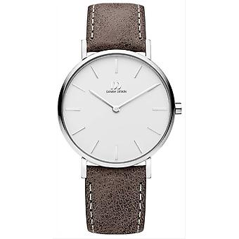 Montre design danois Tidlos Aero Medium-taupe/argent