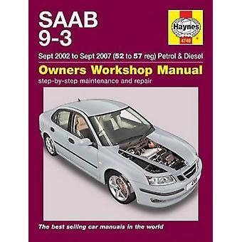 Saab 9-3 Service and Repair Manual - 9781785210075 Book