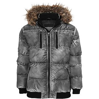 Urban Classics Men's Winter Jacket Spray Dye Expedition