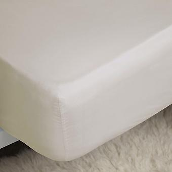 Belledorm 200 Thread Count Cotton Percale Ultra Deep Fitted Sheet