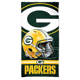 Wincraft NFL Green Bay Packers 3D Toalla de playa 150x75cm