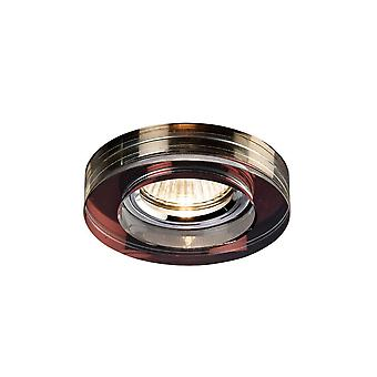 Diyas Crystal Downlight Deep Round Rim Only Purple, IL30800 Required To Complete The Item