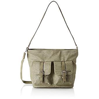 Tamaris Alessia Hobo Bag S - Green Donna Shoulder Bags (Khaki Comb) 12x25x25 cm (W x H L)