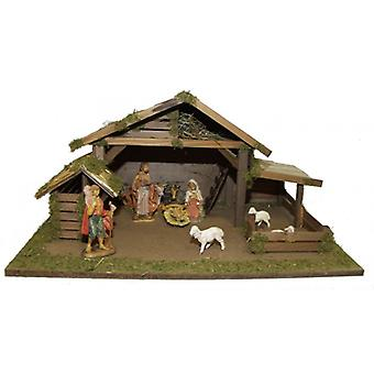 Crib APOSTLE wood crib Nativity Christmas Nativity stable