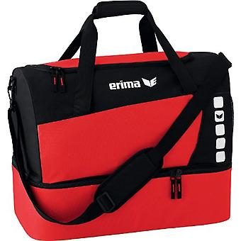 Erima 723336 - Sports Bag with Compartment on Unisex Fund - New Royal/Black - M